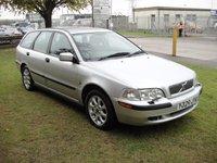 2001 VOLVO V40 1.8 S 5d 121 BHP £650.00