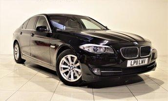 2011 BMW 5 SERIES 2.0 520D SE 4d 181 BHP £9785.00