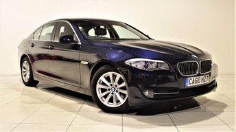 2011 BMW 5 SERIES 2.0 520D SE SALOON 5d 181 BHP £10785.00