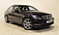 USED 2011 11 MERCEDES-BENZ C-CLASS 2.1 C250 CDI BLUEEFFICIENCY SPORT 4d AUTO 202 BHP + 2 PREV OWNERS + AIR CON + AUX + BLUETOOTH + FULL SERVICE FISTORY