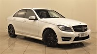 USED 2011 11 MERCEDES-BENZ C-CLASS 2.1 C200 CDI BLUEEFFICIENCY SPORT 4d AUTO 135 BHP + 2 PREV OWNER + SAT NAV + AIR CON + LEATHER SEATS + SERVICE HISTORY