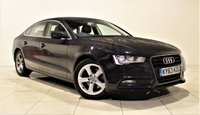 USED 2013 63 AUDI A5 2.0 SPORTBACK TDI SE TECHNIK 5d 134 BHP SAT NAV + AIR CON + LEATHER SEATS + 1 OWNER FROM NEW  + SERVICE HISTORY