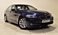 USED 2012 12 BMW 5 SERIES 2.0 520D SE 4d AUTO 181 BHP + 2 PREV OWNERS + + SAT NAV + AIR CON + LEATHER SEATS + SERVICE HISTORY
