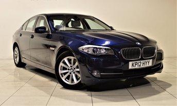2012 BMW 5 SERIES 2.0 520D SE 4d AUTO 181 BHP £11985.00