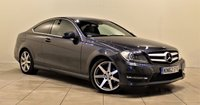USED 2012 62 MERCEDES-BENZ C CLASS 2.1 C250 CDI BLUEEFFICIENCY AMG SPORT 2d AUTO 204 BHP + 2 PREV OWNER + AIR CON + LEATHER SEATS + SERVICE HISTORY