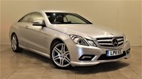 USED 2011 11 MERCEDES-BENZ E-CLASS 2.1 E250 CDI BLUEEFFICIENCY S/S SPORT 2d AUTO 204 BHP + 1 OWNER + FULL SERVICE HISTORY + + AIR CON + AUX + BLUETOOTH