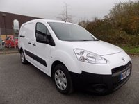 USED 2013 63 PEUGEOT PARTNER 1.6 HDI CRC 1d 90 BHP ONE OWNER FULL SERVICE HISTORY