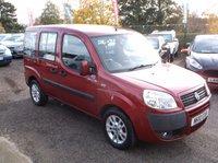 2010 FIAT DOBLO 1.4 8V DYNAMIC H/R 5d 77 BHP £5000.00