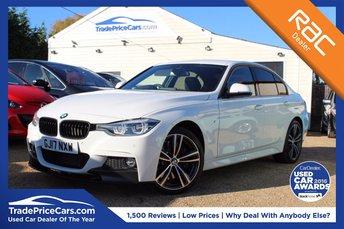 2017 BMW 3 SERIES 3.0 335D XDRIVE M SPORT 4d AUTO 308 BHP £31000.00