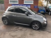 USED 2014 64 FIAT 500 1.2 S 3d 69 BHP ONLY 30300 MILES