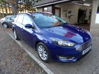 USED 2014 64 FORD FOCUS 1.5 TITANIUM TDCI 5d 118 BHP 1 OWNER FROM NEW, ZERO ROAD TAX, FULL DEALER SERVICE HISTORY, 2 KEYS, SAT-NAV, DAB RADIO