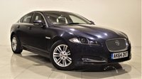 USED 2014 64 JAGUAR XF 2.2 D LUXURY 4d AUTO 163 BHP + 1 OWNER +  SAT NAV + AIR CON + SERVICE HISTORY + LEATHER SEATS