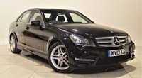 USED 2013 13 MERCEDES-BENZ C-CLASS 2.1 C250 CDI BLUEEFFICIENCY AMG SPORT 4d AUTO 202 BHP + 1 PREV OWNER +  SAT NAV + AIR CON + AUX + BLUETOOTH + SERVICE HISTORY