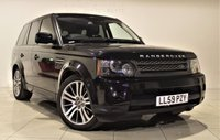 USED 2009 59 LAND ROVER RANGE ROVER SPORT 3.6 TDV8 SPORT HSE 5d AUTO 269 BHP + 2 PREV OWNER + SAT NAV + AIR CON + LEATHER SEATS