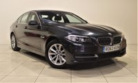 USED 2013 63 BMW 5 SERIES 2.0 520D SE 4d 181 BHP + 1 PREV OWNER +  SAT NAV + AIR CON + AUX + BLUETOOTH + SERVICE HISTORY