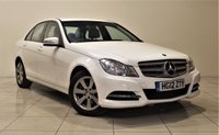 USED 2012 12 MERCEDES-BENZ C-CLASS 2.1 C220 CDI BLUEEFFICIENCY EXECUTIVE SE 4d 168 BHP + 2 PREV OWNER + SAT NAV + AIR CON + LEATHER SEATS + SERVICE HISTORY