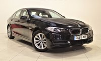 USED 2013 63 BMW 5 SERIES 2.0 520D SE 4d 181 BHP + 1 OWNER +  SAT NAV + AIR CON + SERVICE HISTORY + HEATED LEATHER SEATS