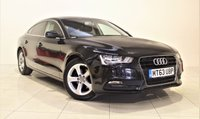 USED 2013 63 AUDI A5 2.0 SPORTBACK TDI SE 5d 134 BHP + 1 OWNER +  SERVICE HISTORY + + AIR CON + AUX + BLUETOOTH