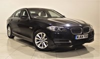 USED 2014 64 BMW 5 SERIES 2.0 520D SE 4d 188 BHP + 1 OWNER +  SAT NAV + AIR CON + SERVICE HISTORY + HEATED LEATHER SEATS