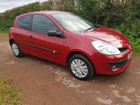 USED 2009 09 RENAULT CLIO 1.1 EXTREME 16V 3d 75 BHP **LOW MILEAGE**LOVELY CONDITION**GREAT DRIVE**