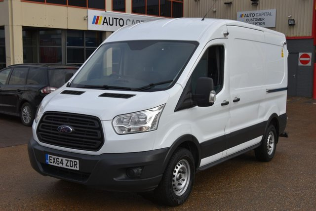 2014 64 FORD TRANSIT 2.2 350 SHR P/V 5d 124 BHP MWB FWD A/C ELECTRIC WINDOWS MOT TILL 20/11/2018