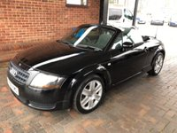 USED 2006 06 AUDI TT 1.8 ROADSTER 2d 148 BHP CABRIOLET CONVERTIBLE