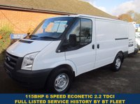 2011 FORD TRANSIT 115 280 ECONECTIC DIRECT FROM THE NATIONAL GRID £4745.00