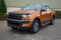 USED 2017 17 FORD RANGER 3.2 WILDTRAK 4X4 DCB TDCI 1d AUTO 197 BHP MASSIVE SPEC, LEATHER, SAT NAV, REVERSE CAMERA, BLUETOOTH