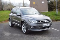 USED 2014 63 VOLKSWAGEN TIGUAN 2.0 R LINE TDI BLUEMOTION TECHNOLOGY 4MOTION 5d 139 BHP