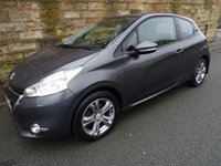 USED 2013 62 PEUGEOT 208 1.4 ACTIVE HDI 3d 68 BHP + Full Service History 5 S/Stamps, Bluetooth & USB Connectivity+
