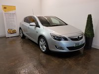 USED 2011 61 VAUXHALL ASTRA 2.0 SRI CDTI S/S 5d 163 BHP FULL SERVICE HISTORY+LEATHER