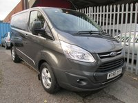 2016 FORD TRANSIT CUSTOM 340 LIMITED 2.0 TDCi 170 PS *AIR CON*CRUISE* £SOLD