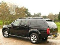 USED 2011 11 NISSAN NAVARA 2.5 DCI TEKNA 4X4 DCB 4 DR AUTO 190 BHP + TRUCKMAN TOP NO VAT
