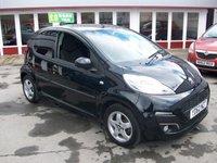 2012 PEUGEOT 107 1.0 ALLURE 5d 68 BHP £4695.00