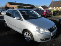 USED 2008 08 VOLKSWAGEN POLO 1.2 MATCH 5DR ALLOYS FSH FULL SERVICE HISTORY ALLOYS CD AC