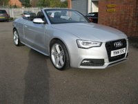 2014 AUDI A5 1.8 TFSI S LINE SPECIAL EDITION 2d 168 BHP £15995.00