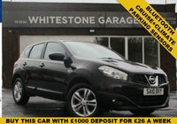 USED 2010 10 NISSAN QASHQAI 1.5 ACENTA DCI 5d 105 BHP CRUISE AND CLIMATE CONTROL, PARKING SENSORS, 2 KEYS. RETRACTABLE MIRRORS. BLUETOOTH