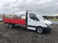 2014 MERCEDES-BENZ SPRINTER 313 CDI 14ft DROPSIDE WITH DEL TAIL LIFT ( EURO 6 ) £11995.00