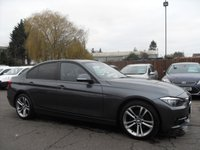 2013 BMW 3 SERIES 1.6 316I SPORT 4d LOW MILEAGE, BLUETOOTH £12000.00