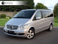 USED 2013 63 MERCEDES-BENZ VIANO AMBIENTE 2.2 CDI LONG WHEEL BASE  VAT QUALIFYING VAT QUALIFYING  LOW MILEAGE AUTOMATIC