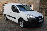USED 2016 16 PEUGEOT PARTNER 1.6 HDI PROFESSIONAL 850 1d 92 BHP AC - Bluetooth