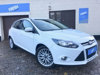 USED 2013 63 FORD FOCUS 1.0 ECOBOOST ZETEC 5d  * 0% Deposit Finance Available