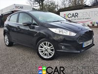 USED 2014 64 FORD FIESTA 1.0 ZETEC 5d 99 BHP 1 OWNER FROM NEW+ FULL SERVICE