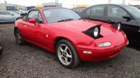 USED 1992 MAZDA MX-5 1.6 1.6 2d 114 BHP CLEARANCE AS IS . NOT AVAILABLE ON FINANCE.