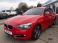 2013 BMW 1 SERIES 2.0 118D SPORT 5d 141 BHP £10495.00