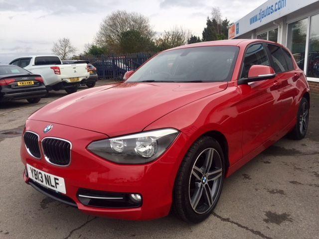 2013 13 BMW 1 SERIES 2.0 118D SPORT 5d 141 BHP