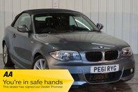 USED 2011 61 BMW 1 SERIES 2.0 118D M SPORT 2d 141 BHP