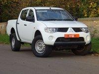 2009 MITSUBISHI L200 2.5 DI-D 4Work Double Cab Pickup 4WD 4dr £8995.00
