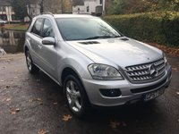 USED 2007 57 MERCEDES-BENZ M CLASS 3.0 ML280 CDI SPORT 5d AUTO 188 BHP