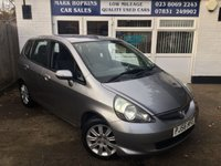 USED 2006 56 HONDA JAZZ 1.3 DSI SE 5d 82 BHP 30K FSH  ONE FAMILY OWNER  EXCELLENT CONDITION THROUGHOUT